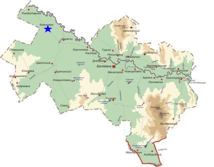 спутниковая карта беляевского